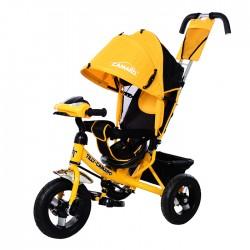 Велосипед трехколесный Tilly Camaro yellow