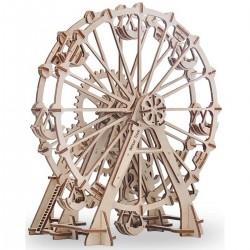 Деревянная сборная механическая 3D модель Wood Trick Колесо обозрения