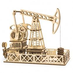 Деревянная сборная механическая 3D модель Wood Trick Нефтяная вышка