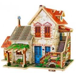 Дом-Конструктор Robotime Фермерский дом. Франция