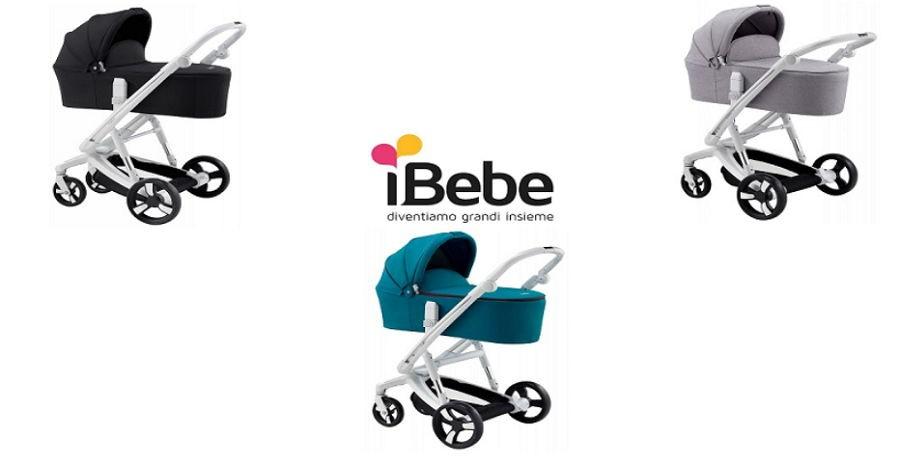 Универсальная коляска 2в1 Ibebe